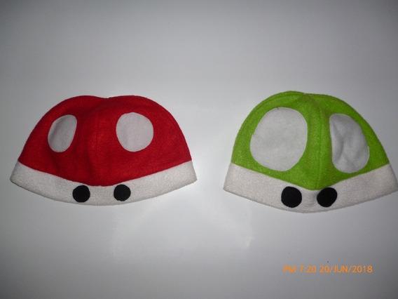 Gorro Polar Hongos De Mario