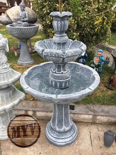 Fuente Agua Atlantis 1.15m Original Decoración