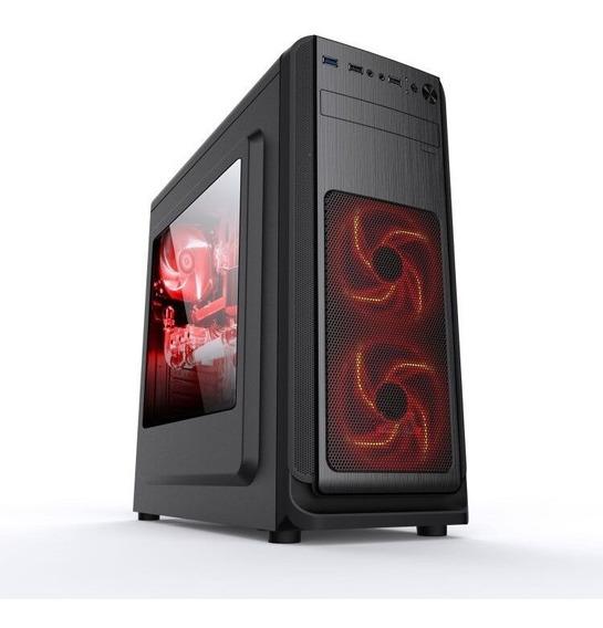 Gabinete Gamer Pc Acrilico Usb3.0 Xway 01141 Sem Fans