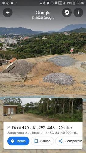 Imagem 1 de 2 de Terreno Com 411m2 Em Santo Amaro Da Imperatriz - Te0714