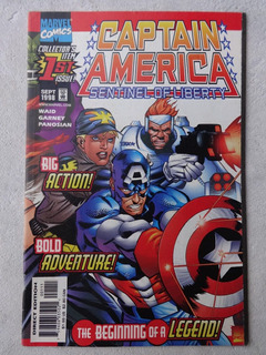 Captain America Sentinel Of Liberty Nº 1 - 2 - 3 - Mark Waid