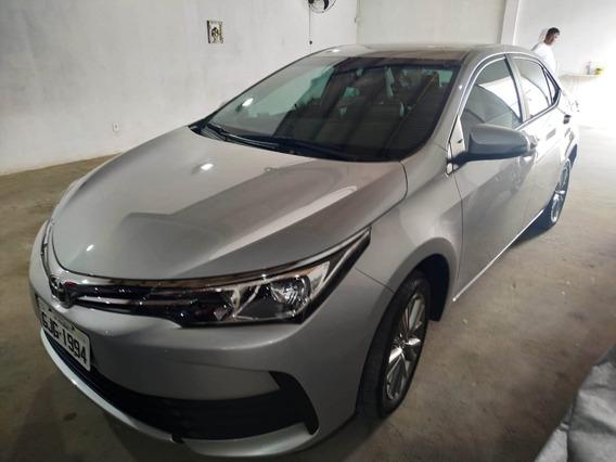 Corolla 1.8 2018 Câmbio Cvt Gli Upper Novo