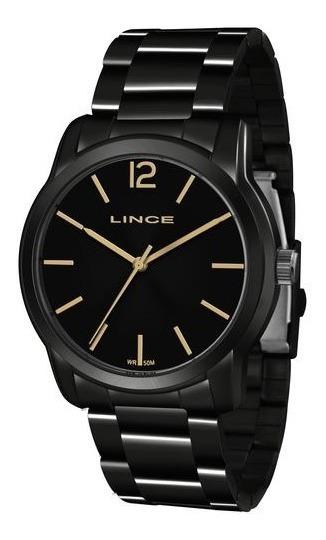 Relógio Lince Feminino Lrn4449l P2px Preto Analógico
