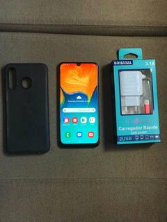 Samsung A30 64gb Garantia De 90 Dias