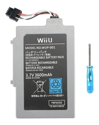 Batería Wii U Gamepad Wii U 3600mah - Residentgame