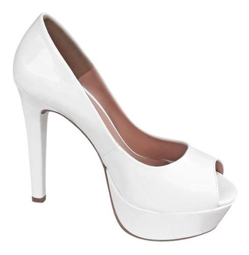 3ea9f3250 Peep Toe Noiva - Scarpins e Plataformas para Feminino Peep toes com ...