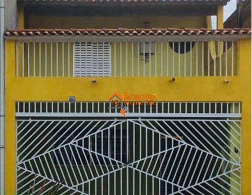 Sobrado Com 2 Dormitórios À Venda, 125 M² Por R$ 410.000,00 - Jardim Santa Clara - Guarulhos/sp - So0536
