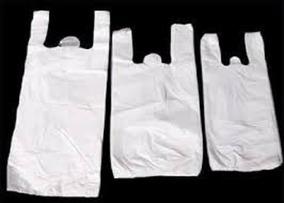 Sacolas Plasticas Branca Com Tratamento Pacote De 1 Kg