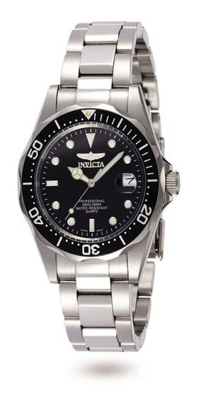 Invicta Hombre 8932 Pro Diver Reloj Acero Inoxidable Negro