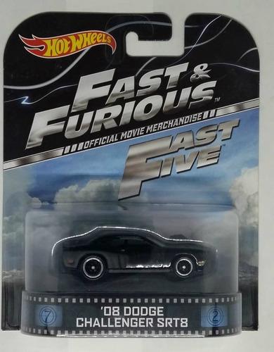 Hot Wheels Retro Fast & Furious '08 Dodge Challenger 1:64