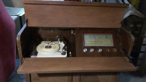 Mueble Antiguo Tocadiscos Winco Con Radio Mod.piano (ref.28)