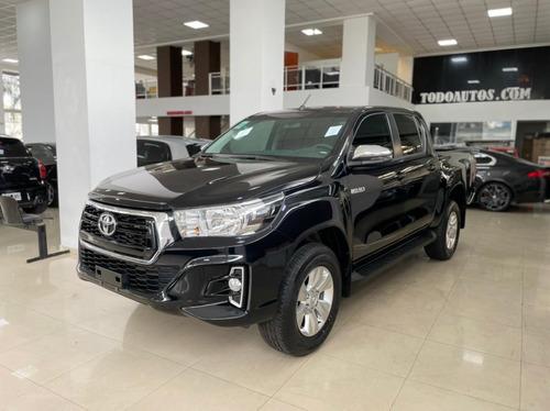 Toyota Hilux Srv 4x4 Automatica 0km Negra Todoautos