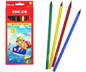 Lápis De Cor No Atacado Kit Com 10 Caixas Material Escolar