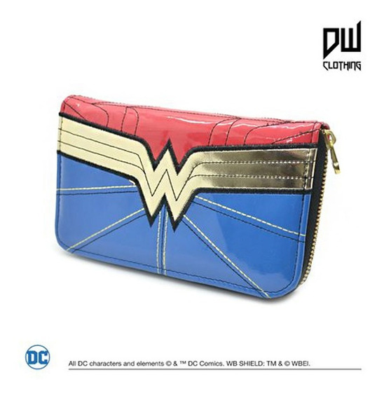 Billetera Wonder Woman - Producto Oficial D.c Comics