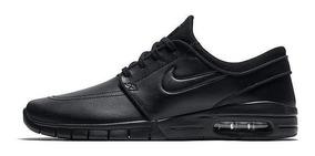 Tênis Nike Sb Stefan Janoski Max L Preto Couro 685299-009 Og