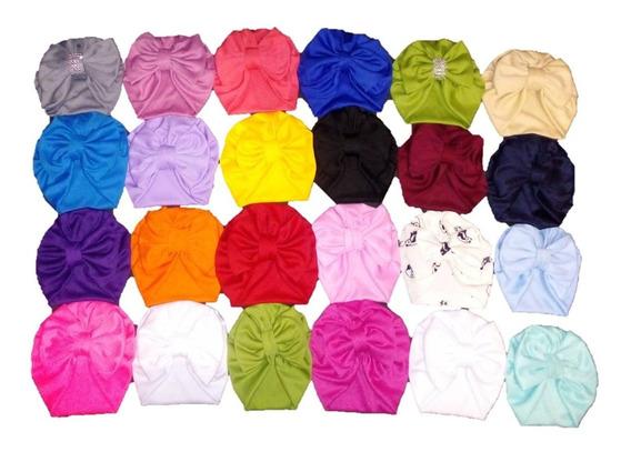 Paquete Turbantes Gorros Bebe 0-36 M (8 Piezas). De Moño