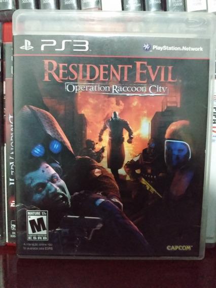 Resident Evil Operation Raccoon City Ps3   Parcel. Sem Juros