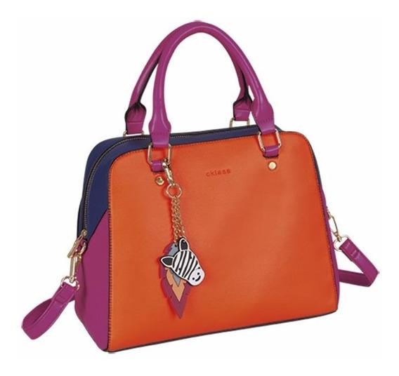 Bolsa Bowling Bag Para Mujer Multicolor