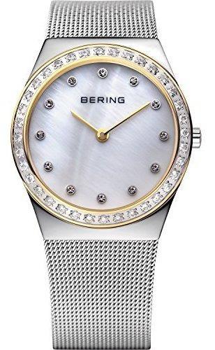 Bering Time 12430-010 Classic Collection Reloj Delgado Con C