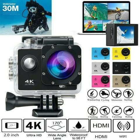 Camera Sport Wifi 4k