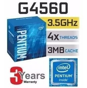 Processador Intel Pentium G4560 3.5ghz Lga 1151 Kabylake