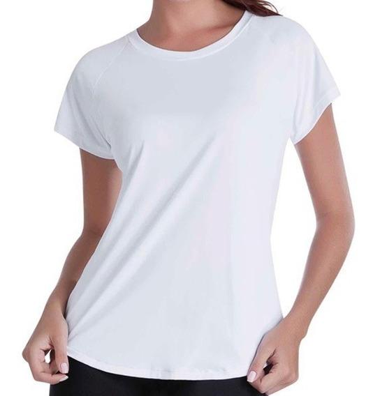 Camiseta Feminina Lisa De Sublimação Atacado