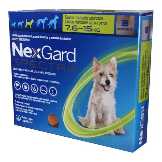 Nexgard Spectra 7.6 A 15kg Antipulgas 3 Comprimidos