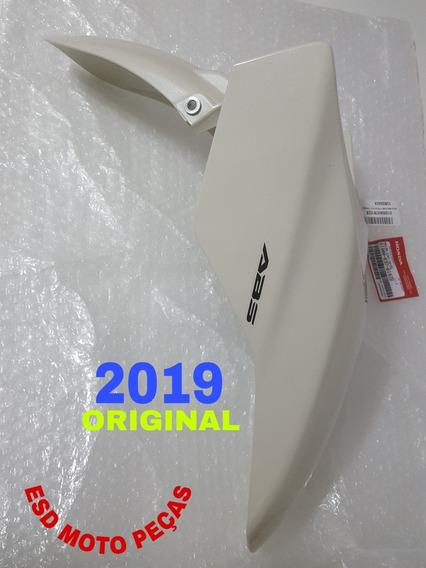 Paralama Branco Creme Pcx150 2019 Novo Original Sem Uso.