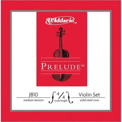 Set De Cuerdas Para Violín Daddario J810 4/4m