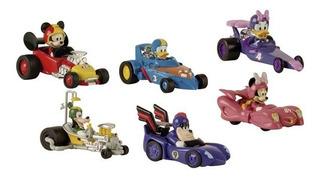 Autos Mickey Sobre Ruedas Minnie Donald Googy Pete Daisy