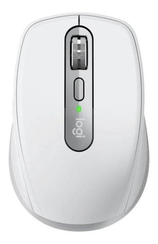 Imagen 1 de 5 de Mouse inalámbrico recargable Logitech  MX Anywhere 3 gris pálido
