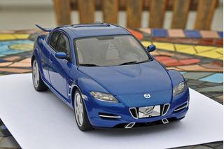 Mazda Rx-8 X-men 1/18 - Autoart
