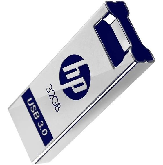 Pen-drive Flash 32gb Usb 3.0 Metal Hp X750w X785w Rapido