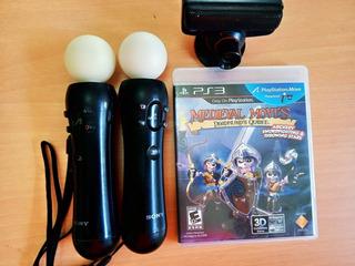 Playstation Move / 2controles Move + Cámara + Juego