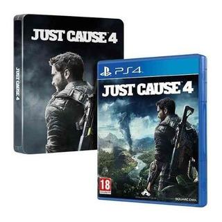 Juego Ps4 Just Cause 4 Edición Dia Uno
