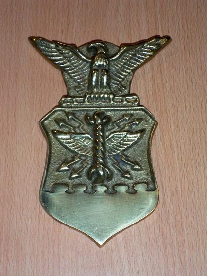 Insignia Militar En Bronce