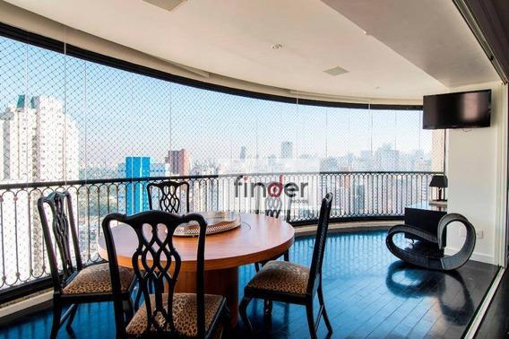 Apartamento Moderno À Venda No Coração Dos Jardins! 3 Dormitórios, 228 M² Por R$ 4.400.000 - Ap12517