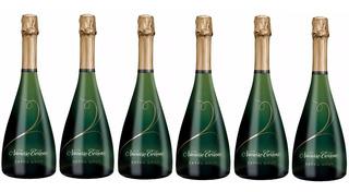 Champagne Navarro Correas Extra Brut Caja X 6 Botella De 750