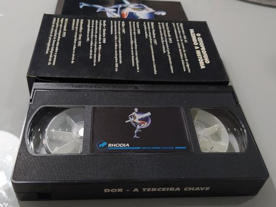 Fita Vhs Dor - A Terceira Chave Vídeo Antigo Década 90