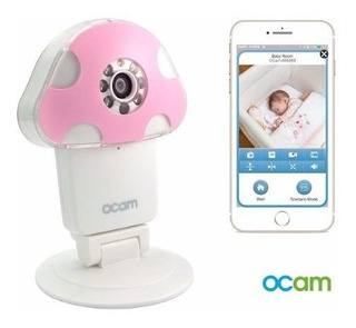 Monitor Bebe Camara Dvr Video Audio Ocam-m1 Wifi Inalambrico