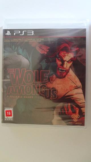 The Wolf Among Us Ps3 Mídia Física - Novo E Lacrado