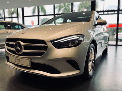 Mercedes Benz Clase B 200 4*2 At 2021 Plata