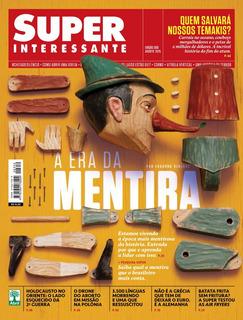 Revista Super Interessante - Edição 350/2015 (mentira)