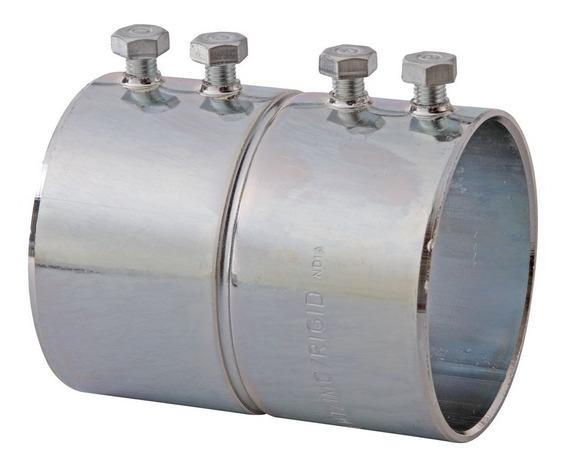 Cople Para Tubo Conduit Pared Delgada 1 Pulgada Caja De 20pz
