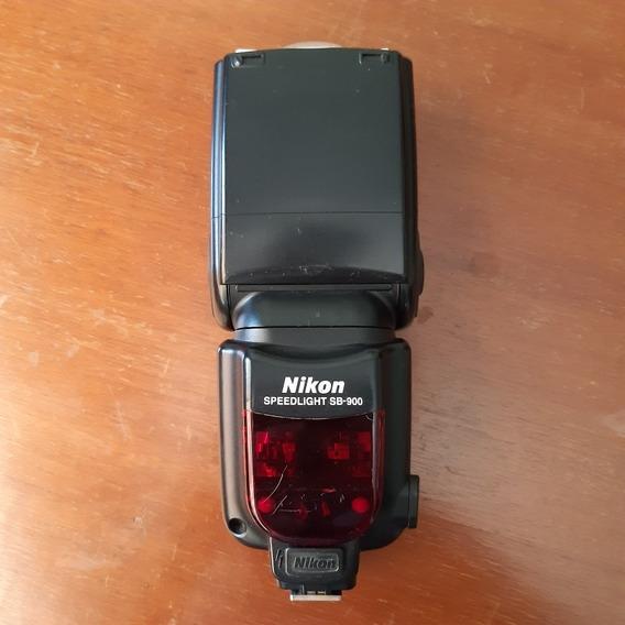 Flash Nikon Sb-900 Usado