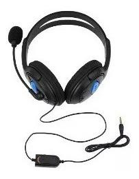 Audífonos Con Micrófono Para Ps4 Gaming Xbox Pc