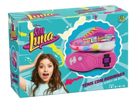 Sou Luna Tênis Com Rodinhas Com Luzes Tam 34