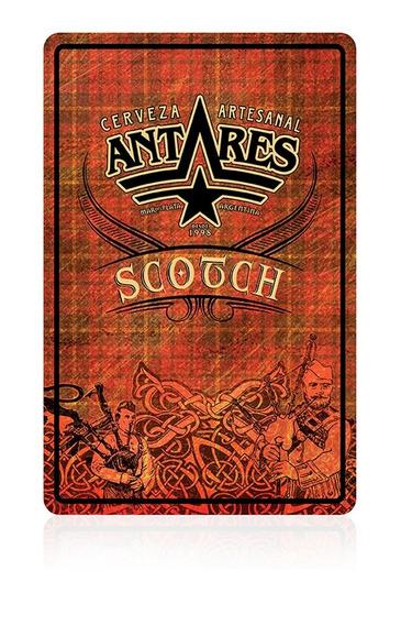 Chapa Scotch Cerveza Artesanal Antares