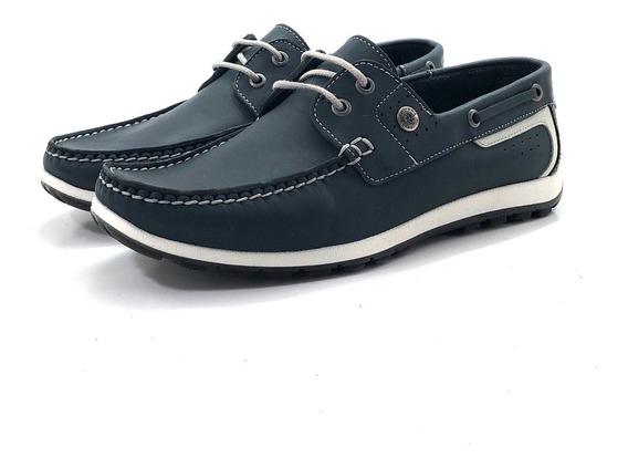 Ringo Turchi 10 Nautico Cuero El Mercado De Zapatos!!!