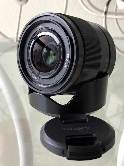Lente Sony 28mm F2 (fullframe, A7iii, A6500)